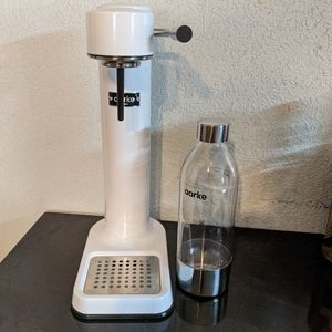 Aarke Carbonator II , white with pet bottle (o)